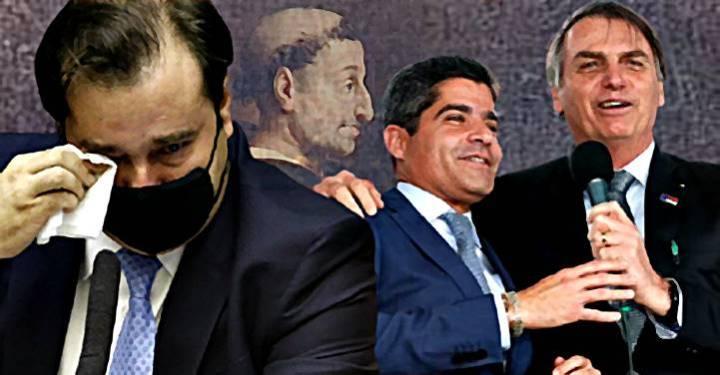 """Expulso do DEM, Maia compara ACM Neto a Torquemada e diz: é """"vice perfeito de Bolsonaro"""""""