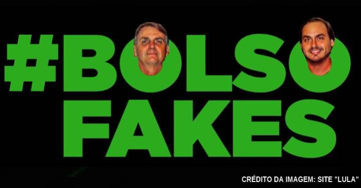 """""""Bolsonaro solta a boiada das fake news contra Lula para confundir população"""", diz o site 'Lula'"""