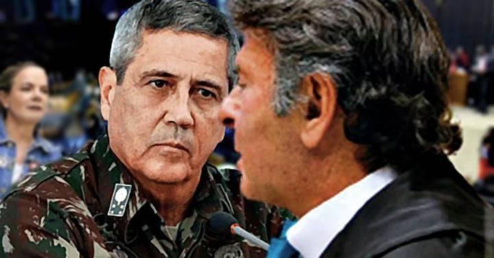 """Oposição discute convocação do """"pretendente a ditador"""" no Congresso e STF para explicar ameaças"""