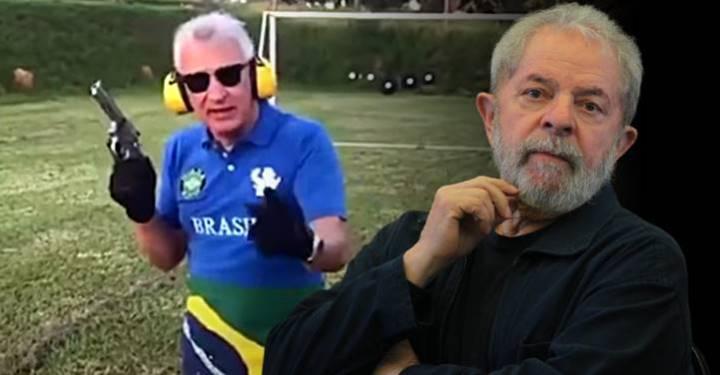 Lula quer R$ 50 mil do homem que o ameaçou com revólver para criar efeito pedagógico