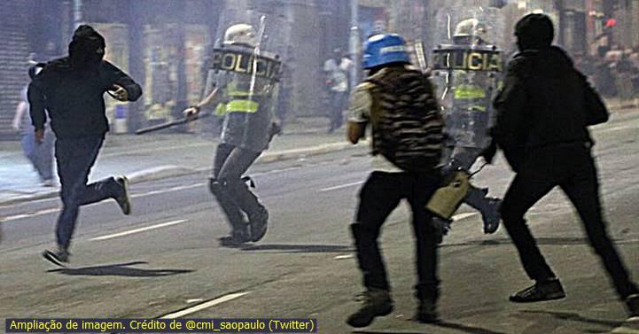 """[Vídeo] Bombas contra o #24J, em São Paulo: """"Tem que arrancar esse monstro do poder"""", diz perfil"""