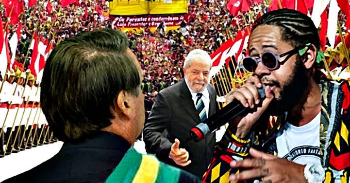 Emicida também quer cantar na posse de Lula