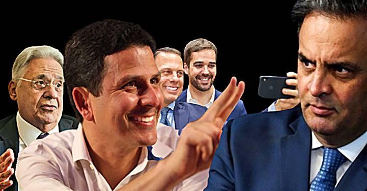 """""""PSDB tem que tomar cuidado para não acabar em 2022"""", diz Aécio Neves em entrevista"""