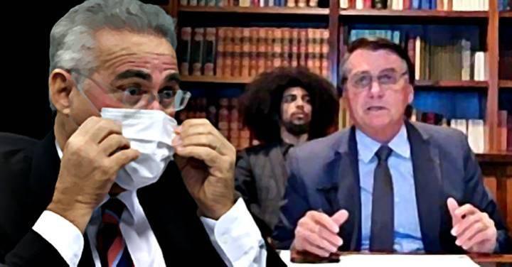 """Renan Calheiros: Réu confesso, Bolsonaro """"prevaricou e sentou na privada"""""""