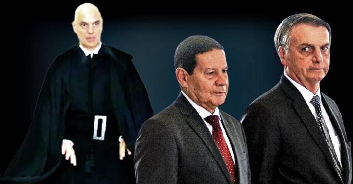 Moraes compartilha com TSE provas de fake news para investigar chapa Bolsonaro-Mourão