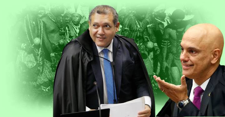 Nunes Marques vota contra indígenas e Moraes suspende julgamento sobre tese do marco temporal