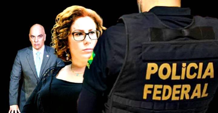 Moraes manda a PF intimar Carla Zambelli para depor sobre golpe e ataques ao STF