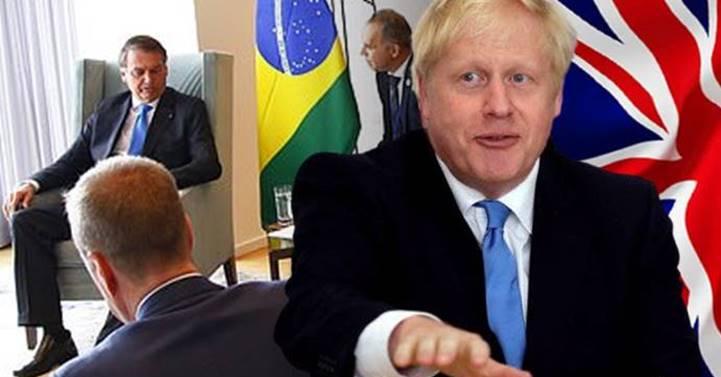 """Bolsonaro quis apostar 1 caixa de uísque com Boris Johnson para ver quem tinha mais """"anticorpos"""""""