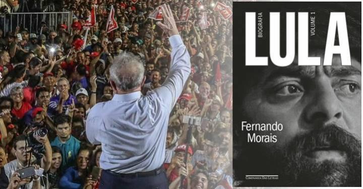 Biografia de Lula entra na pré-venda