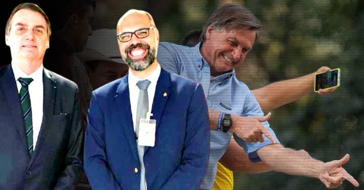 PF suspeita que o investigado Allan dos Santos tenha estimulado Bolsonaro a dar golpe