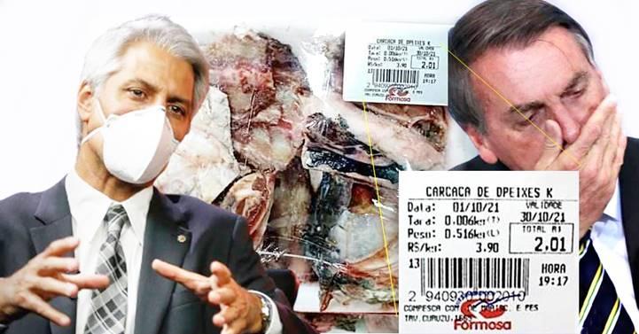 """""""A culpa é sua, Bolsonaro"""", diz Molon sobre venda de """"osso, pelanca e carcaça de peixe"""" para matar fome"""