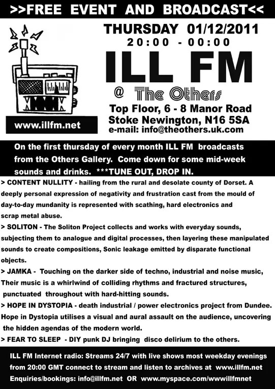 Jamka playing at the Others (IllFM show)