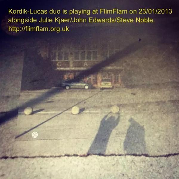 Kordik Lucas Duo at FlimFlam 23.01.2013