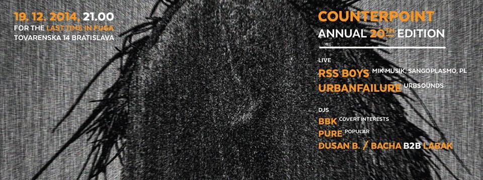 19 December :: urbanfailure live on Counterpoint 20
