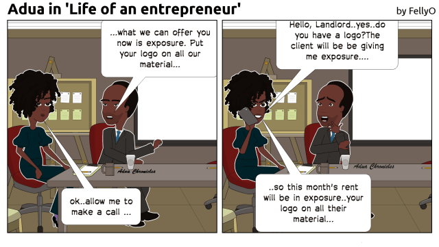 Life of an Entrepreneur - Adua
