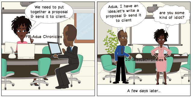 Adua Office peeves