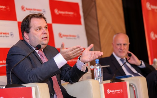 Kenya Airways CEO Sebastian Mikosz,