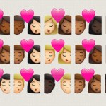 interracial couple emojis