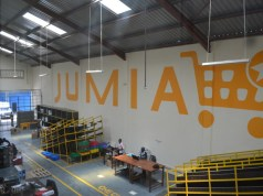 Jumia warehouse in Kenya