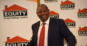 Equity Bank CEO, James Mwangi