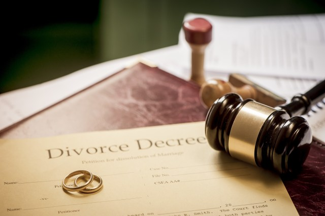 man tries divorcing wife twice