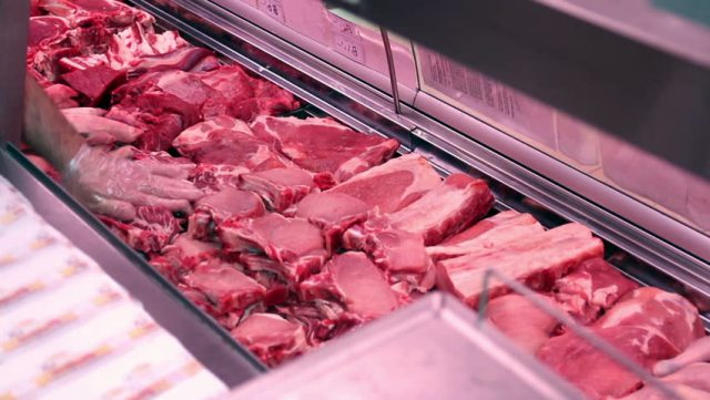 Six supermarkets with chemical in meat