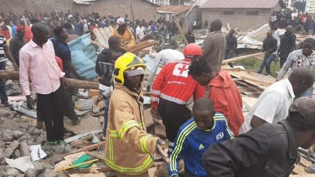 Precious Talent School collapses