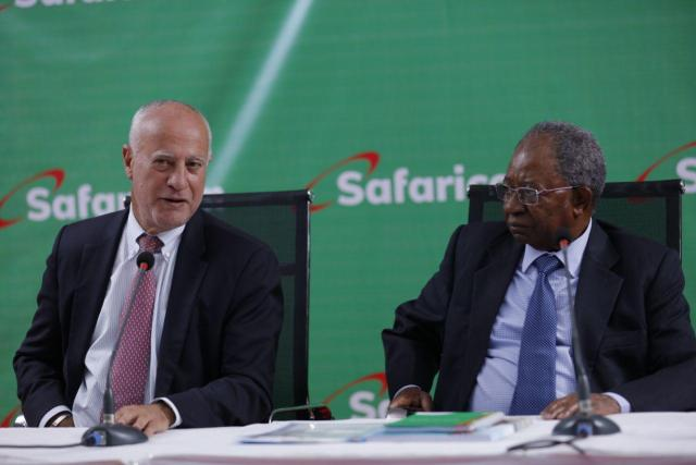 Michael Joseph and Nicholas Nganga