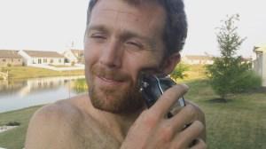 Matt shaving