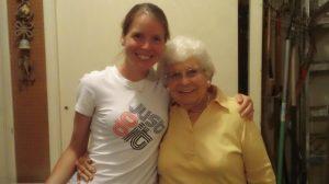 Julie and Grandma Urbanski