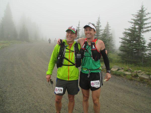 Pre-race with Dan.