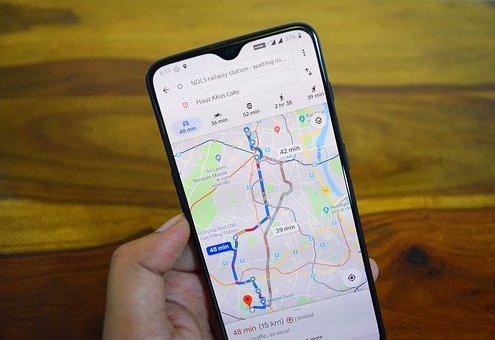 Traffic in Google Map