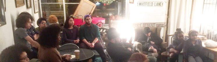 Harry Street Coffee Open Mic crowd