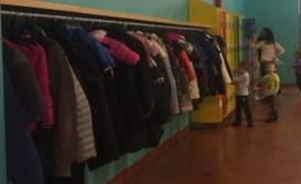 The Coat and Locker Area
