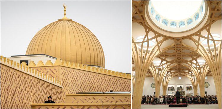 ترک صدر نے برطانیہ کی پہلی ماحول دوست مسجد کا افتتاح کردیا