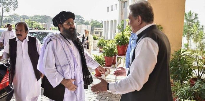 افغان طالبان کا وفد آج وزیر خارجہ شاہ محمود قریشی سے ملاقات کرے گا