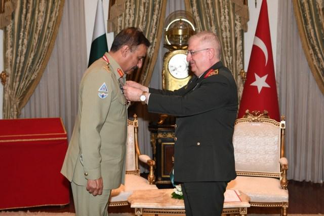چیئرمین جوائنٹ چیفس آف اسٹاف کمیٹی جنرل ندیم رضا کیلئے ترک فوجی اعزاز 2