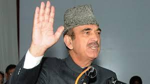 ہم نے اسمبلی انتخابات کرانے سے پہلے ریاستی درجے کی بحالی کا مطالبہ کیا ہے: غلام نبی آزاد
