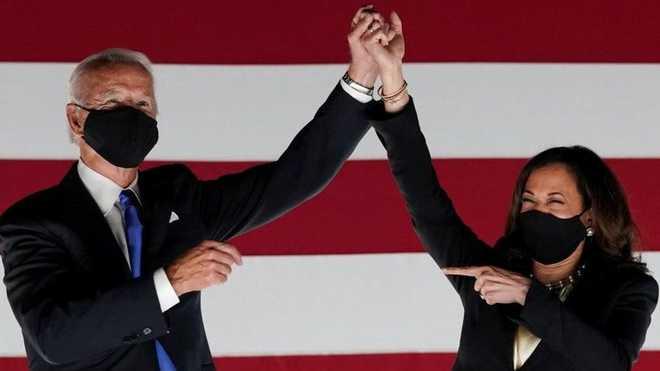 جوزف بائیڈن اورکملا حارث ٹائمز میگزین کے 2020 کے پرسن آف دی ائیر