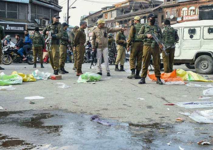اپ ڈیٹ :پٹن  میں گرینیڈ دھماکہ ،6 شہری زخمی