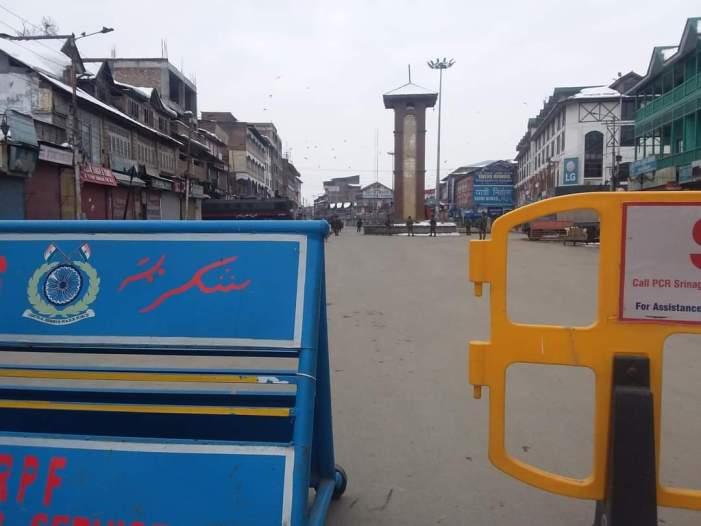 کشمیر میں سخت سیکورٹی بندوبست اور غیر اعلانیہ ہڑتال کے بیچ یوم جمہوریہ تقاریب منعقد