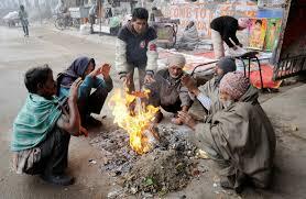 پورا شمالی ہندوستان سخت سردی کے لپیٹ میں ، راحت کے امکانات کم