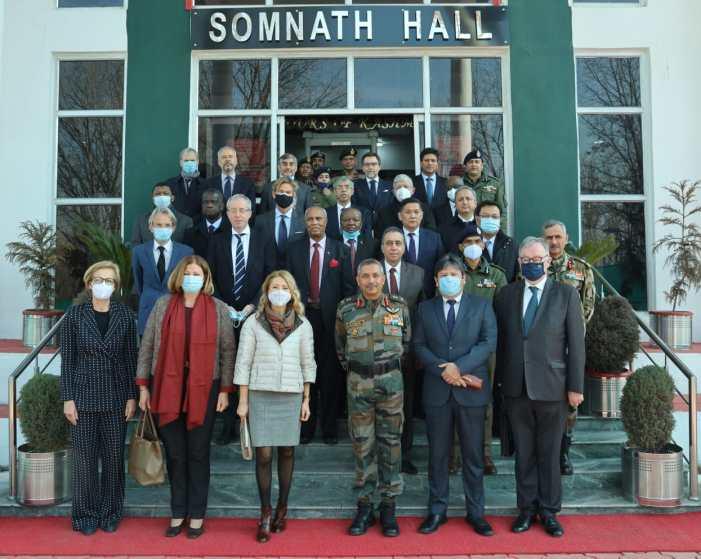 غیر ملکی سفارتکاروں کے وفد کا دورہ جموں وکشمیر اختتام پذیر