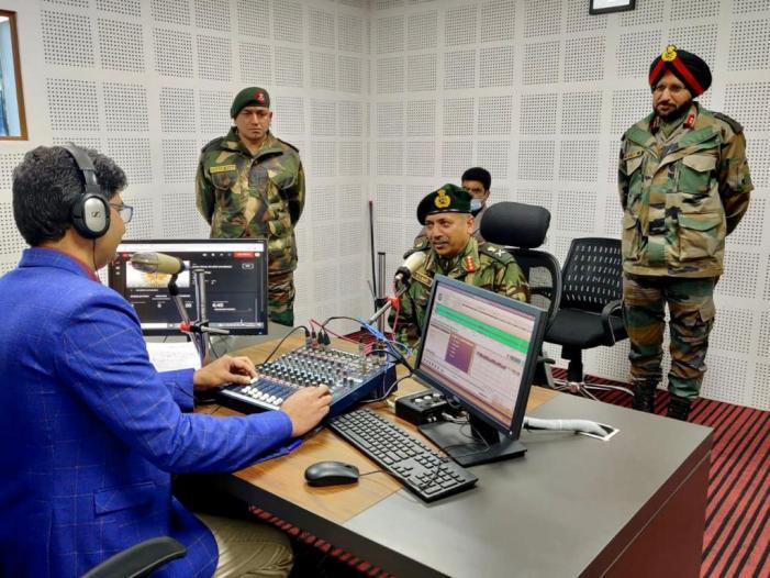 'ریڈیو چنار'کا افتتاح ، فوج اور عوام امن کی راہ پر