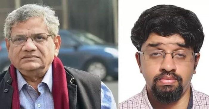عمر عبداللہ، محبوبہ مفتی، محمد یوسف تاریگامی کا سیتا رام یچوری کے بیٹے کی موت پر اظہار غم