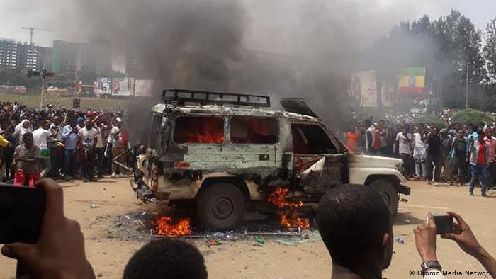 ایتھوپیا: بازار پر فضائی بمباری، 80 افراد ہلاک، 43 زخمی، درجنوں کی حالت تشویشناک