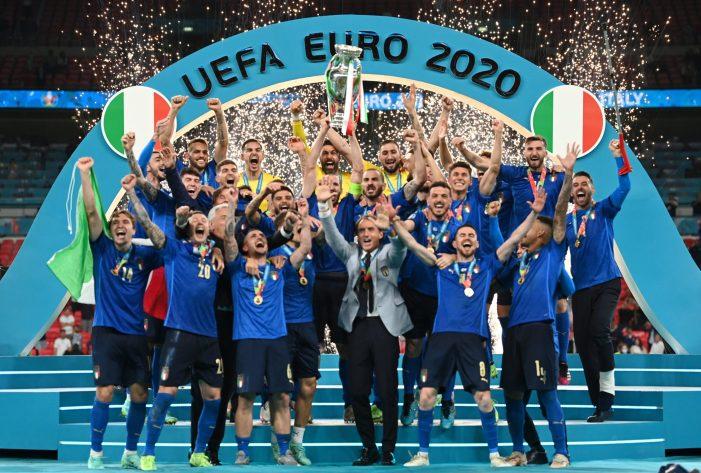اٹلی یورو کپ- 2020 کا چمپئن بن گیا