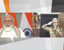ایک بھارت، سریشٹھ بھارت کے علمبردار ہیں پولیس افسران: وزیراعظم