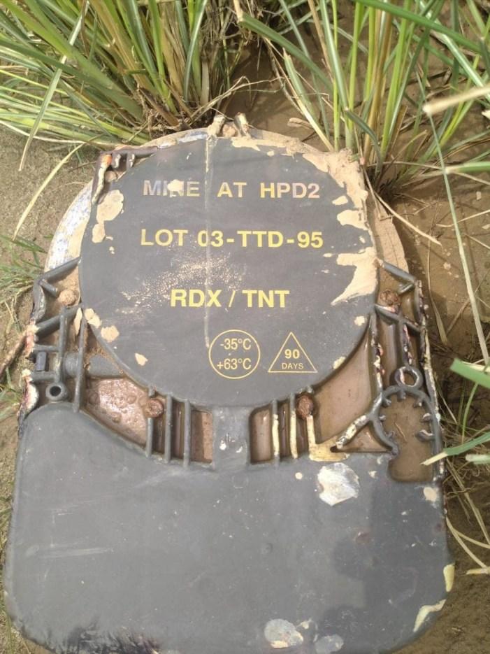 سانبہ میں بین الاقوامی سرحد پر اینٹی ٹینک سرنگ بر آمد: پولیس کا دعویٰ