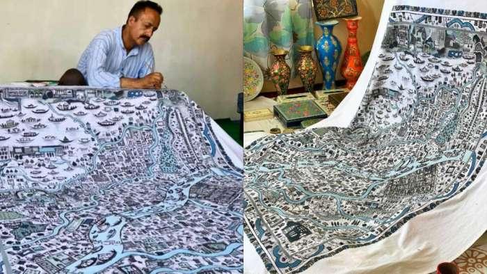 پیپر ماشی فن ہی نہیں ایک علم بھی ہے: معروف پیپر ماشی فنکار محمد مقبول جان